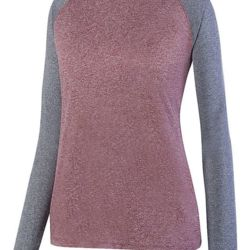 2817 Ladies Kniergy Two Color Long Sleeve Raglan Tee Thumbnail