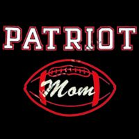 Patriot Football Mom Glitter Thumbnail